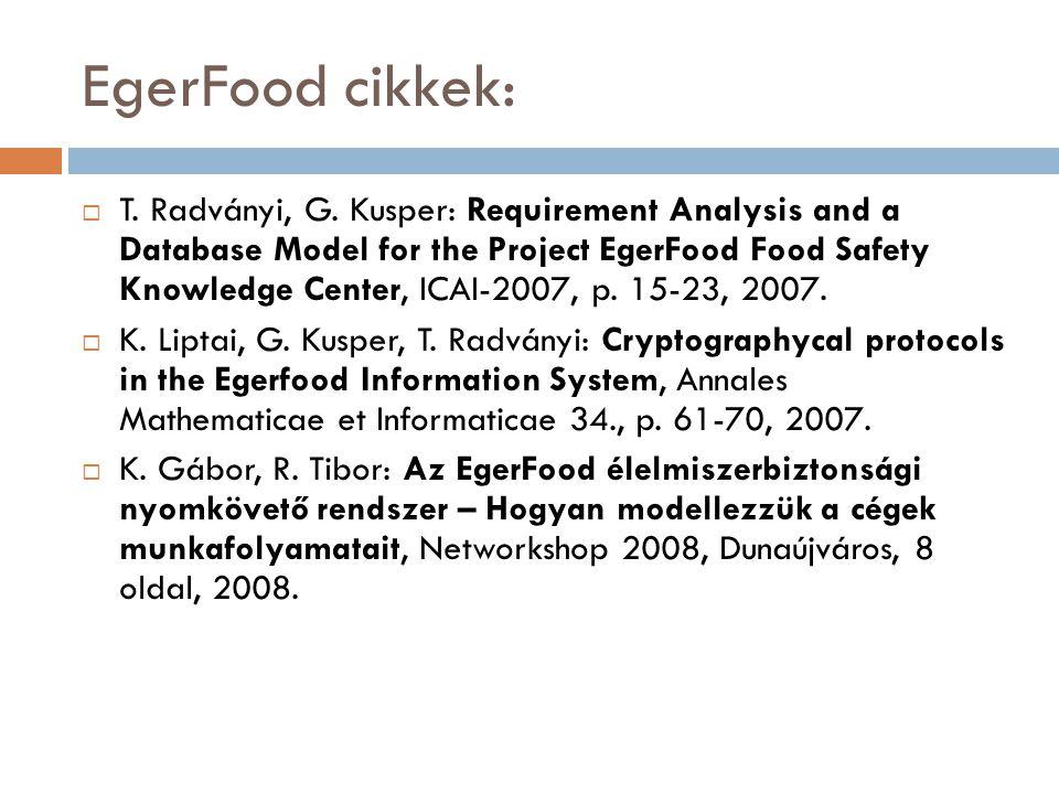 Az eFilter projekt  KMOP-1.1.1-09/1-2009-0053 számú pályázat  Egészségügyi profil alapján szűrt fogyasztói adatbázisokból nyert információkat kezelő rendszer-eFilter  WIT-SYS Consulting ZRt.