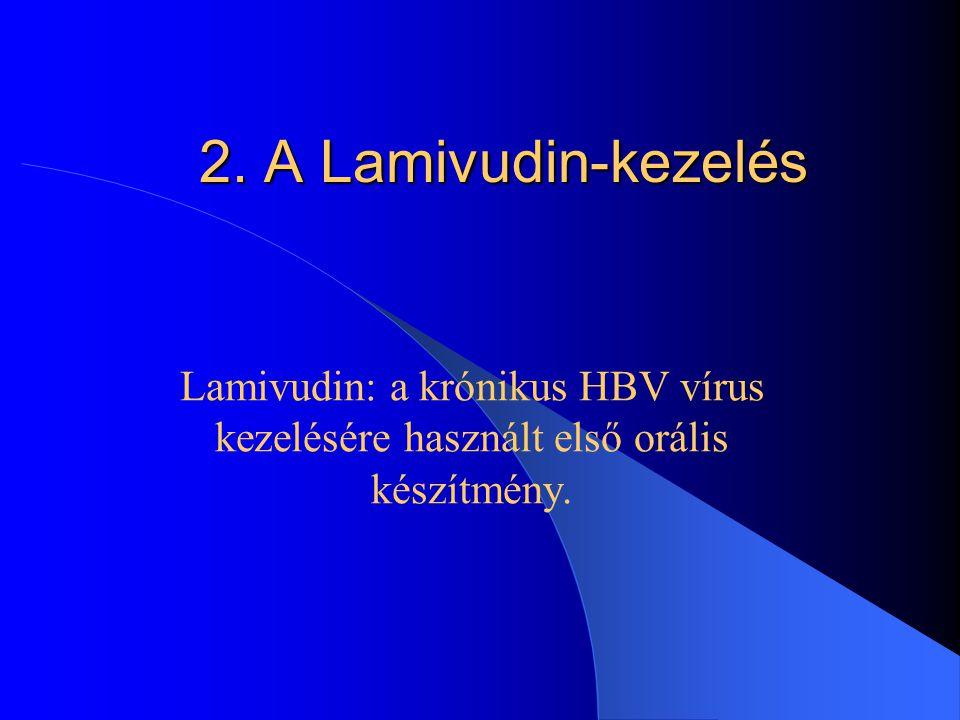Az Interferon-kezelés hatástalansága vagy késleltetett hatása Alacsony ALT-szint (májenzim,alanin-aminotranszferáz) Jelentősen emelkedett HBV-DNS szin