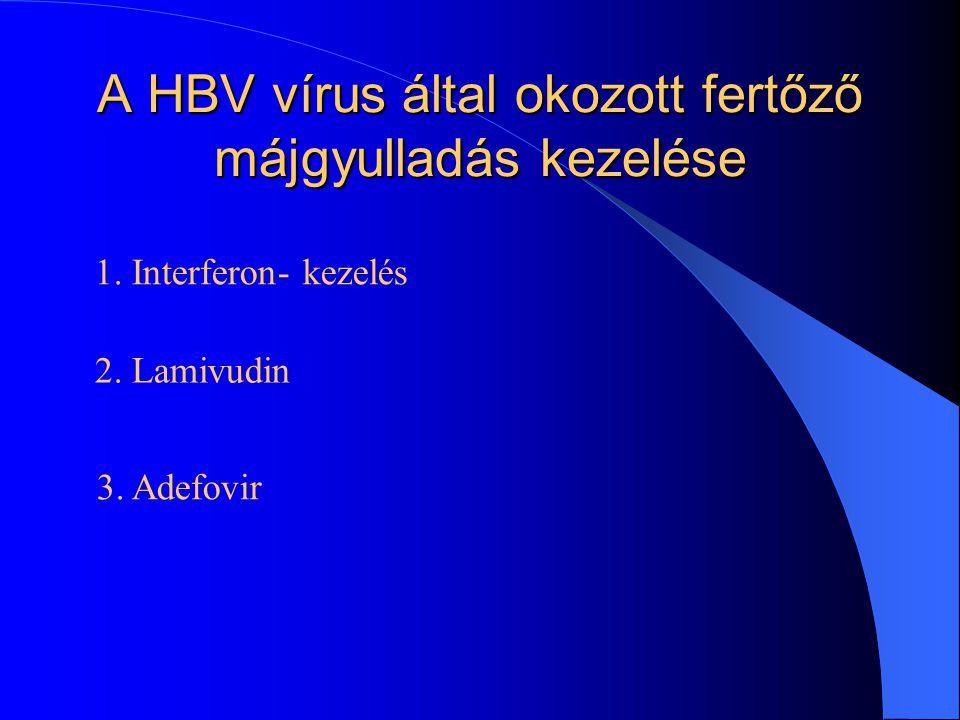 A HBV vírus által okozott fertőző májgyulladás kezelése 1.