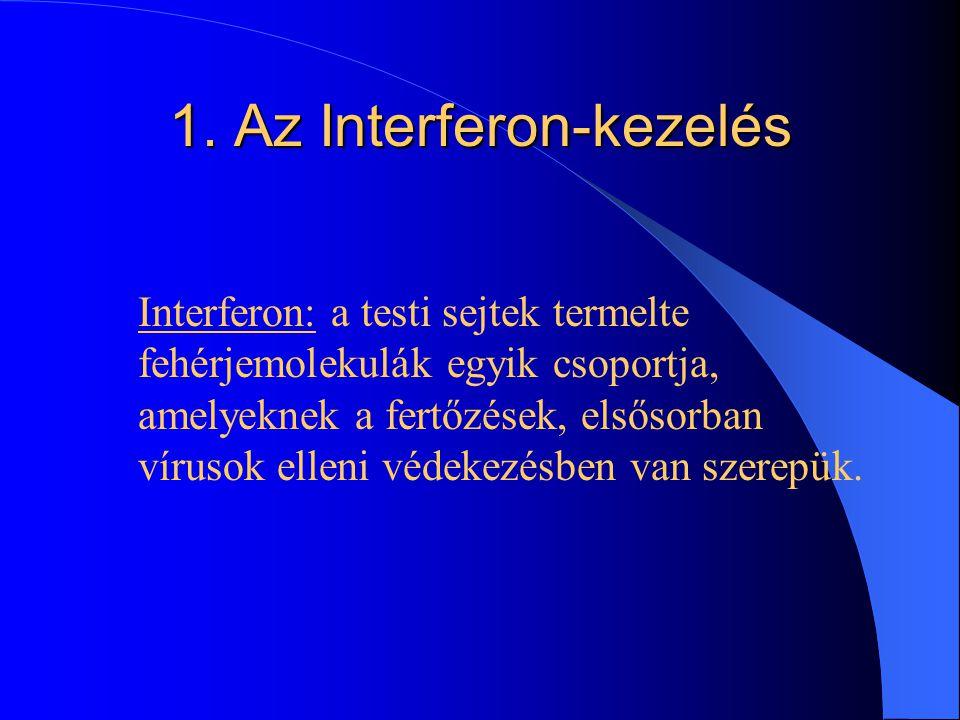 A HBV vírus által okozott fertőző májgyulladás kezelése 1. Interferon- kezelés 2. Lamivudin 3. Adefovir