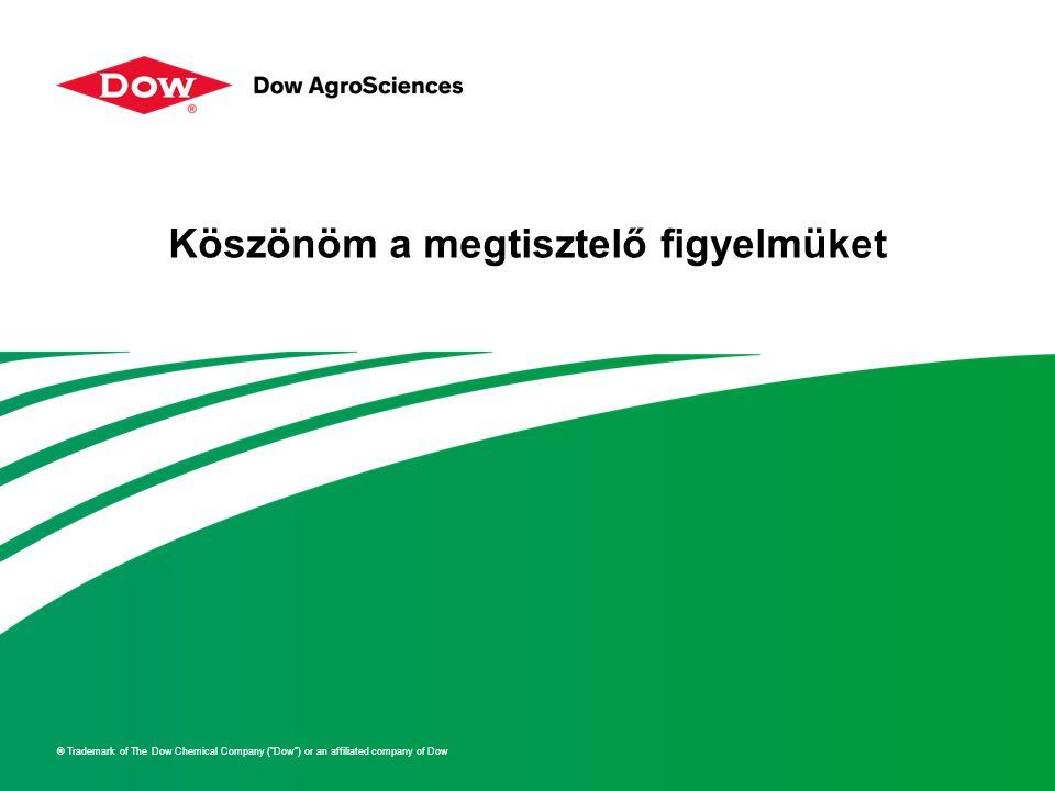 """® Trademark of The Dow Chemical Company (""""Dow"""") or an affiliated company of Dow Köszönöm a megtisztelő figyelmüket"""