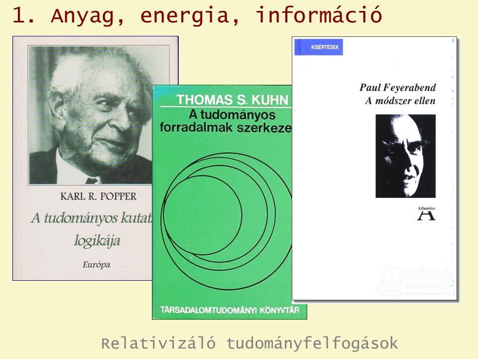  Az élő anyag kialakulása, fejlődése és működése látszólagos ellentmondás ban van a termodinamika II.