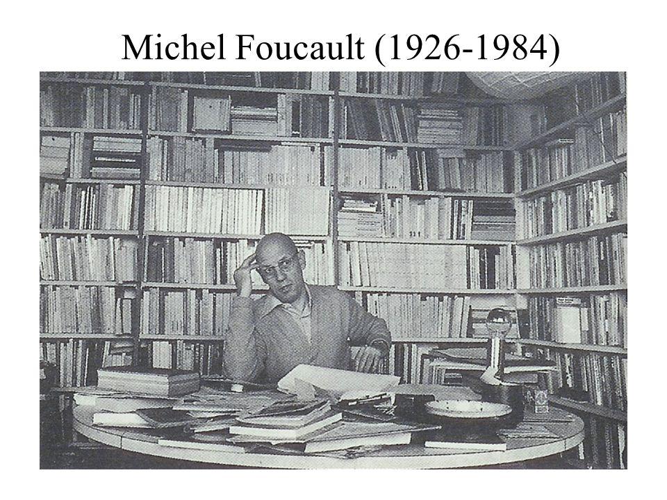 Foucault vizsgálódásainak fő irányai A tudás, a hatalom, a szubjektum vizsgálata egymást követő időszakokban.