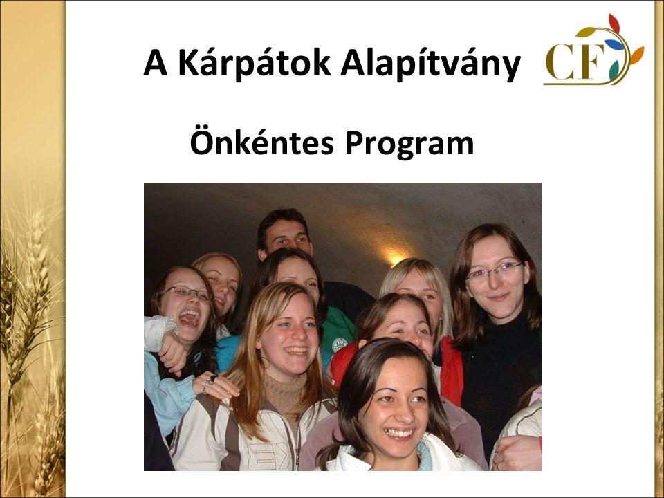 A Kárpátok Alapítvány Önkéntes Program
