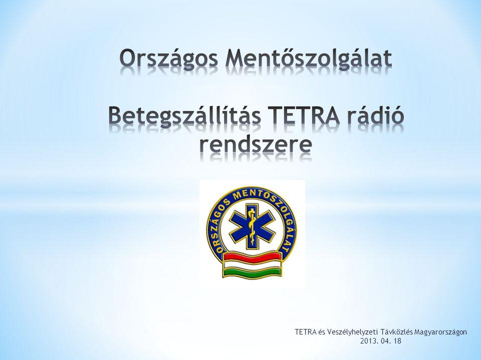ORSZÁGOS MENTŐSZOLGÁLAT a Magyar Közlöny 2011.évi 44.