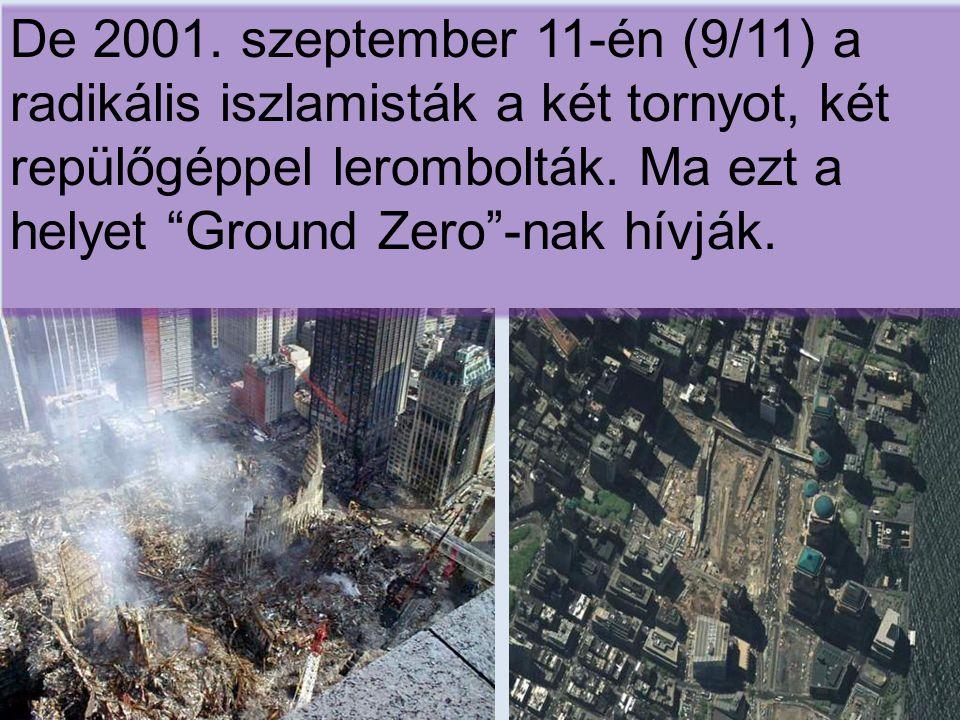 A World Trade Center-nek több mint száz emelete volt irodákkal, üzletekkel és éttermekkel.