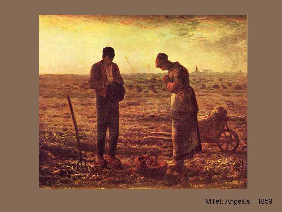 Millet: Angelus - 1859