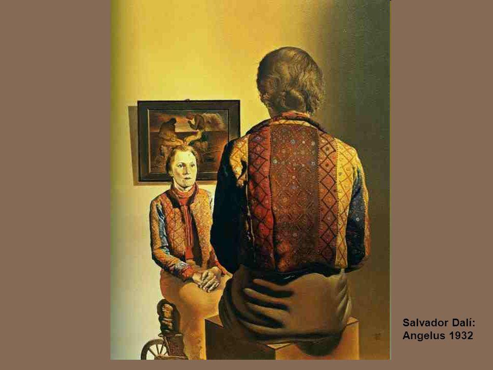 Salvador Dalí: Angelus 1932
