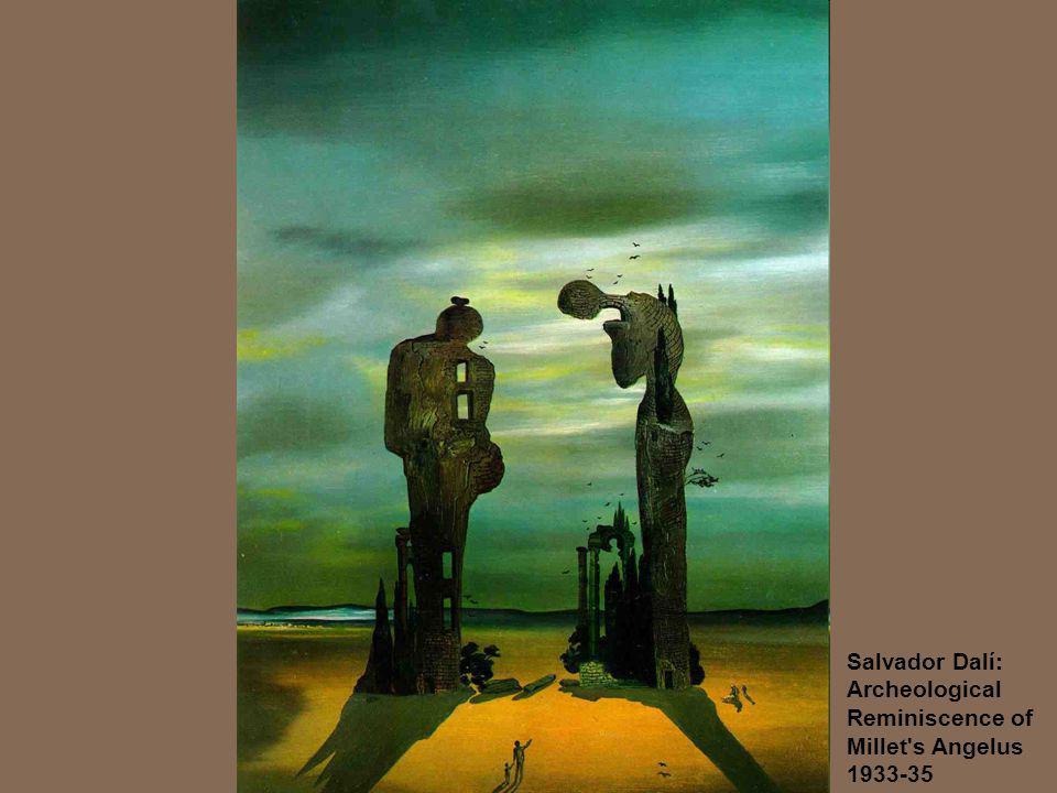 Salvador Dalí: Archeological Reminiscence of Millet's Angelus 1933-35