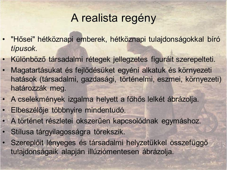 A realista regény