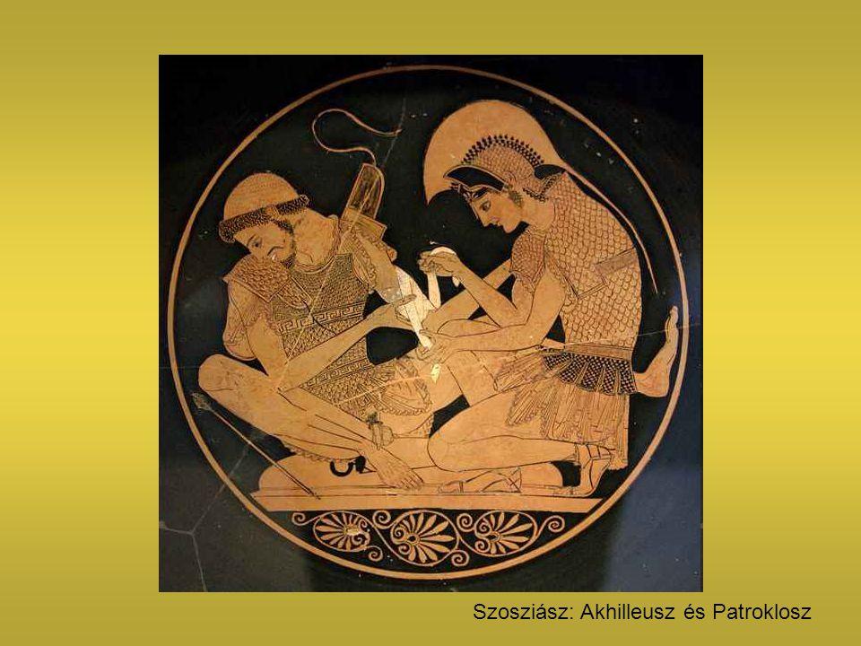 Szosziász: Akhilleusz és Patroklosz