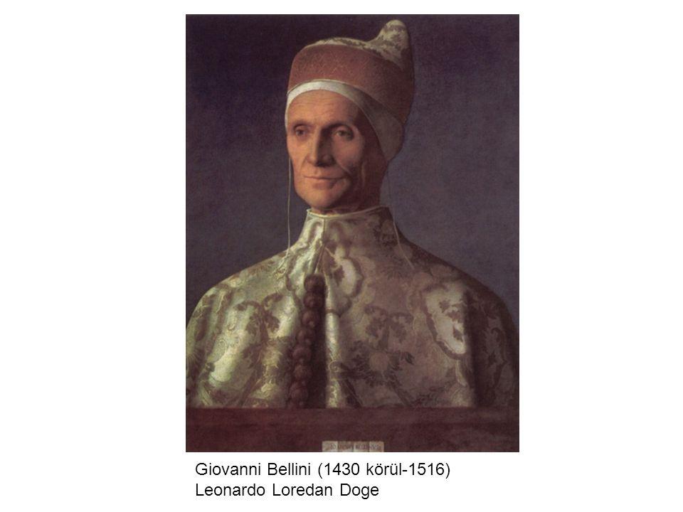 Giovanni Bellini (1430 körül-1516) Leonardo Loredan Doge