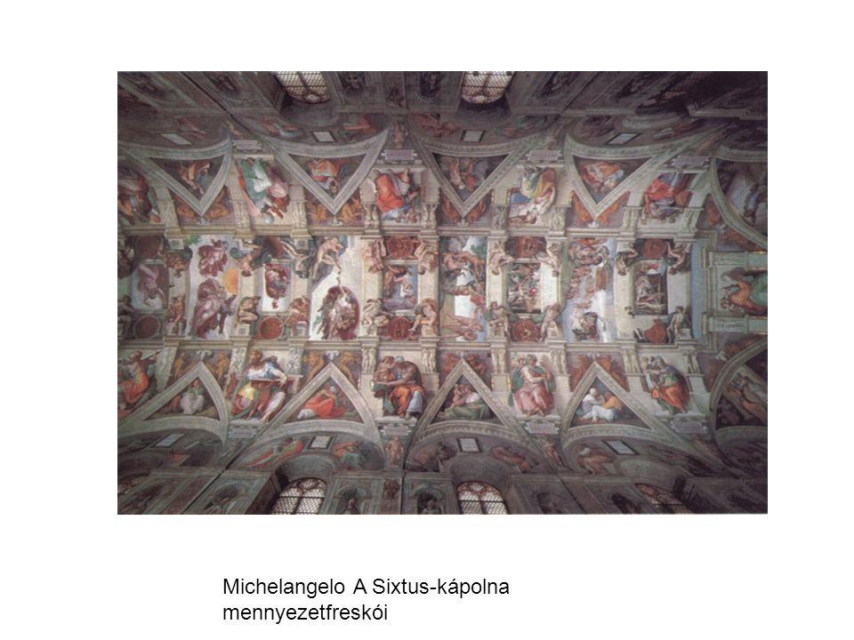 Michelangelo A Sixtus-kápolna mennyezetfreskói