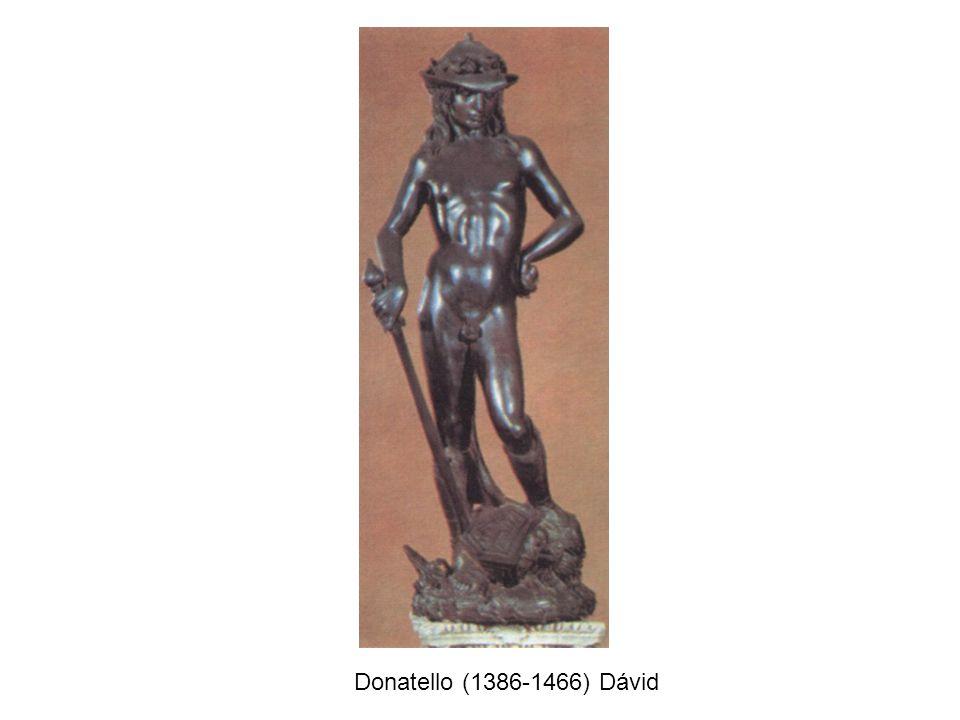 Donatello (1386-1466) Dávid