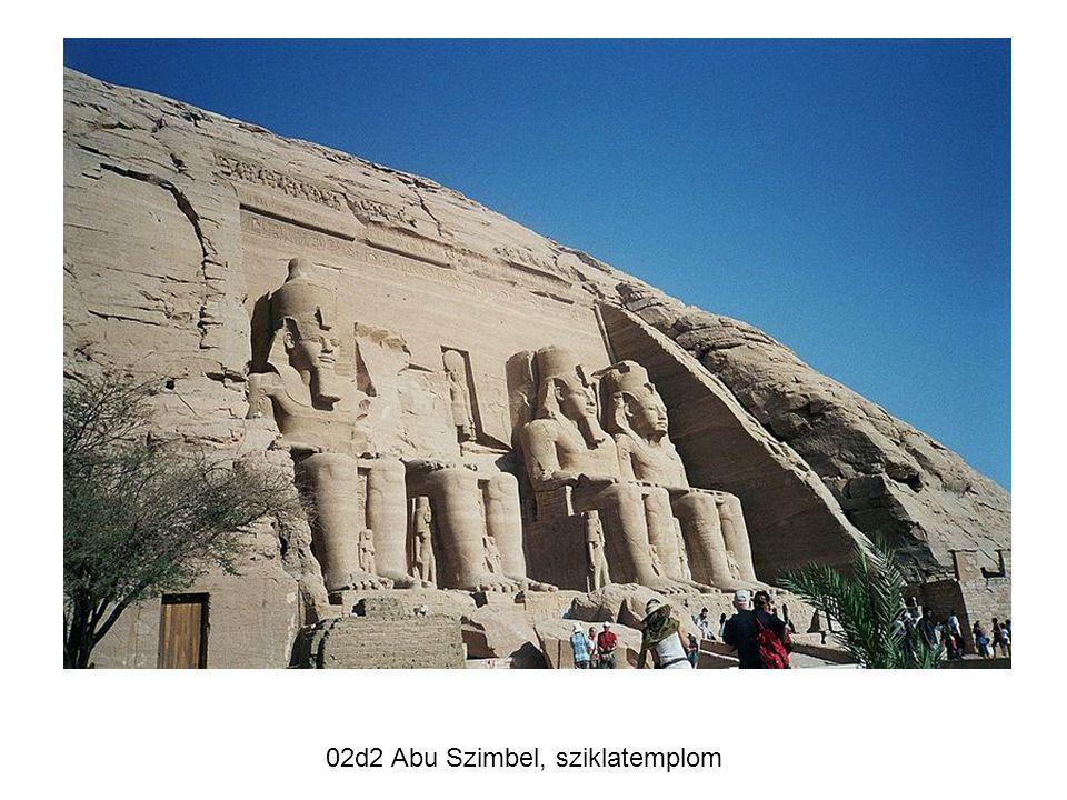 02d2 Abu Szimbel, sziklatemplom