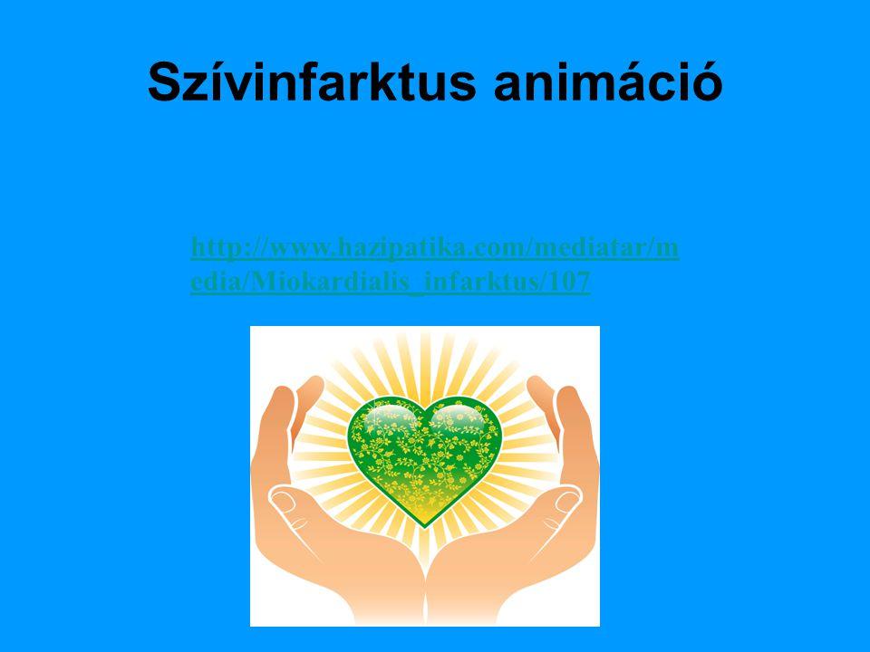 Szívinfarktus animáció http://www.hazipatika.com/mediatar/m edia/Miokardialis_infarktus/107