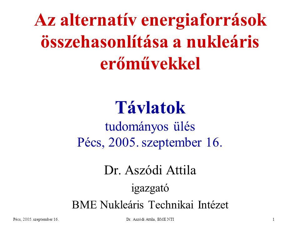 Pécs, 2005.szeptember 16.Dr.