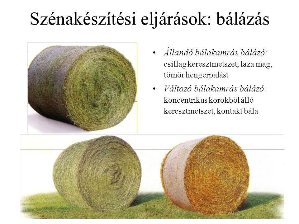 Szálas tömegtakarmányok: szalmák Szalma: termés nélküli szár és levél, csak a vegetatív részek –takarmányszalmák (tavaszi gabonák szalmái) –alomszalmák (őszi gabonák szalmái) Általános jellemzés: –nyersrost-tartalom kb.