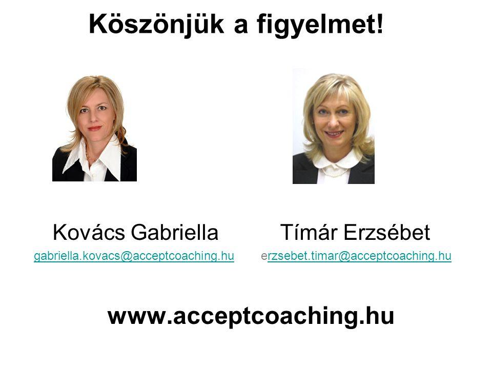 Kovács Gabriella Tímár Erzsébet gabriella.kovacs@acceptcoaching.hugabriella.kovacs@acceptcoaching.hu erzsebet.timar@acceptcoaching.hurzsebet.timar@acc