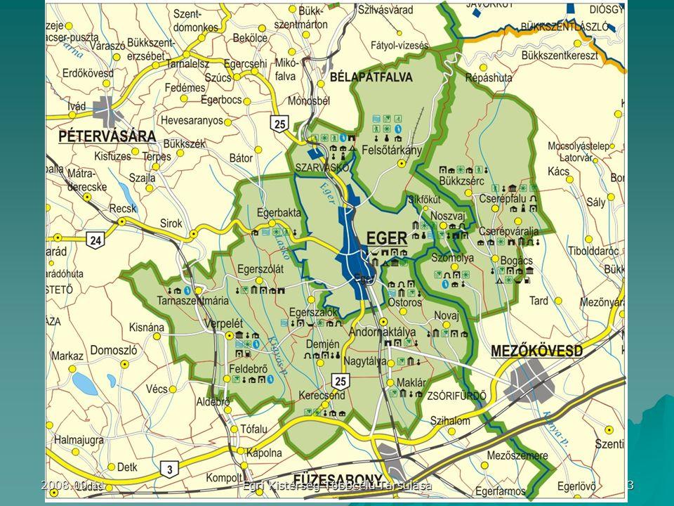 3 Egri Kistérség Többcélú Társulása 2008.09.11