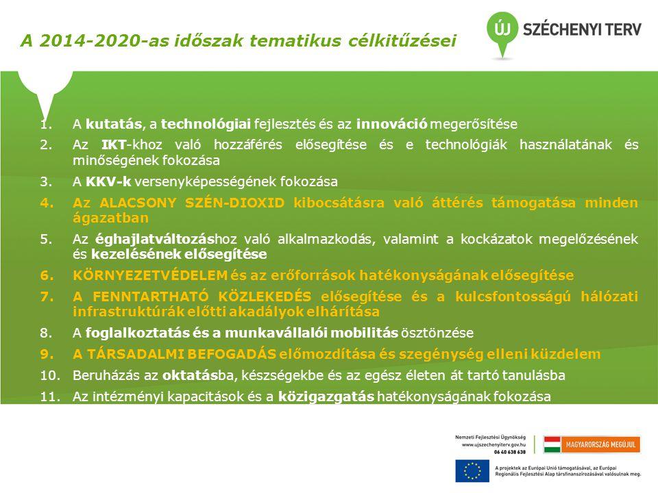 1.A kutatás, a technológiai fejlesztés és az innováció megerősítése 2.Az IKT-khoz való hozzáférés elősegítése és e technológiák használatának és minős