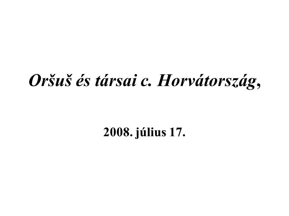 Oršuš és társai c. Horvátország, 2008. július 17.
