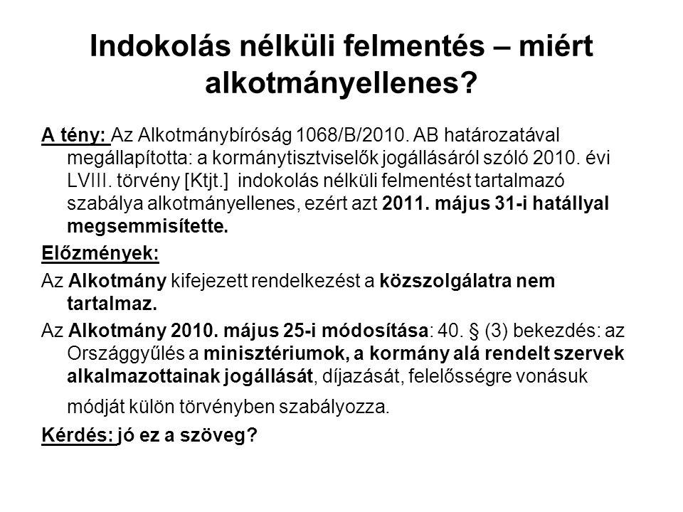 A KDB tárgyalása Határidők és határozat A közszolgálati panaszt a Kormánytisztviselői Döntőbizottság annak kézhezvételétől számított 30 napon belül indokolással ellátott határozatban bírálja el és döntését írásban közli.