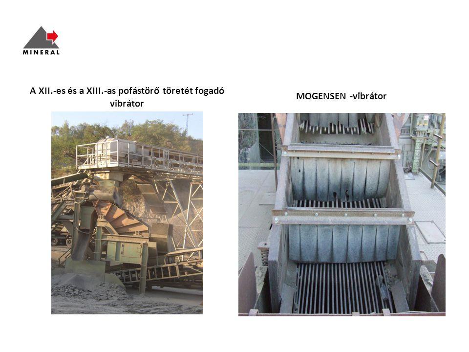 A XII.-es és a XIII.-as pofástörő töretét fogadó vibrátor MOGENSEN -vibrátor