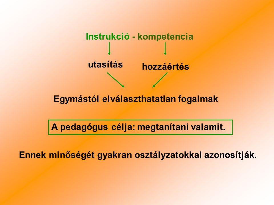 Igazi eredmény: Az oktatás eredményeként kialakult a gyerekekben a kompetencia.