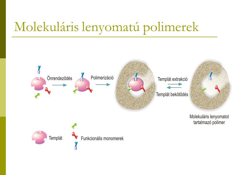 Molekuláris lenyomatú polimerek