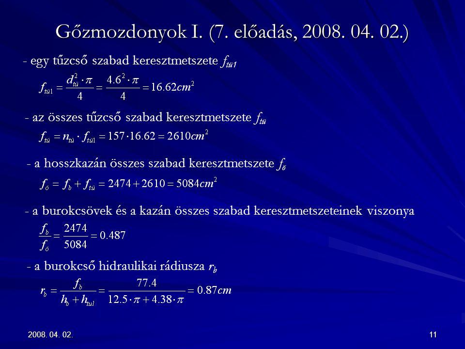 2008.04. 02.11 Gőzmozdonyok I. (7. előadás, 2008.