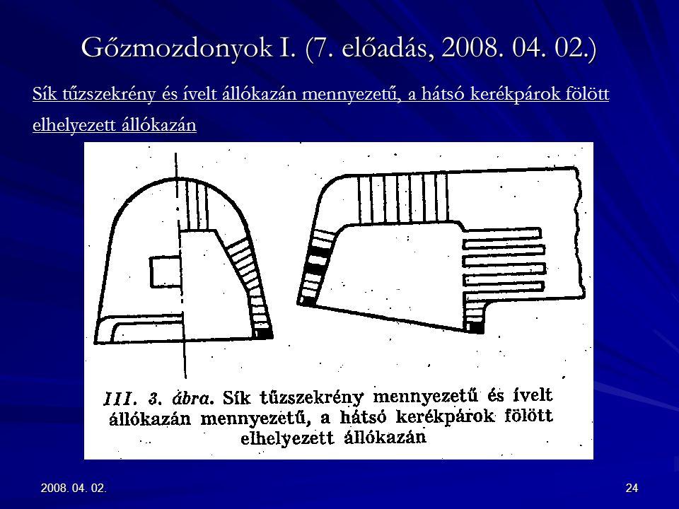 2008.04. 02.24 Gőzmozdonyok I. (7. előadás, 2008.