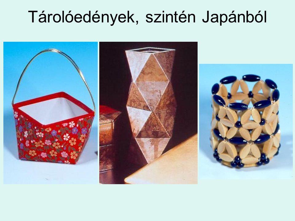 Tárolóedények, szintén Japánból