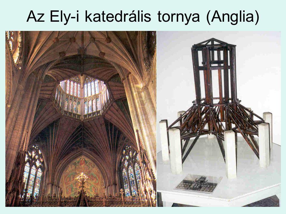 Az Ely-i katedrális tornya (Anglia)