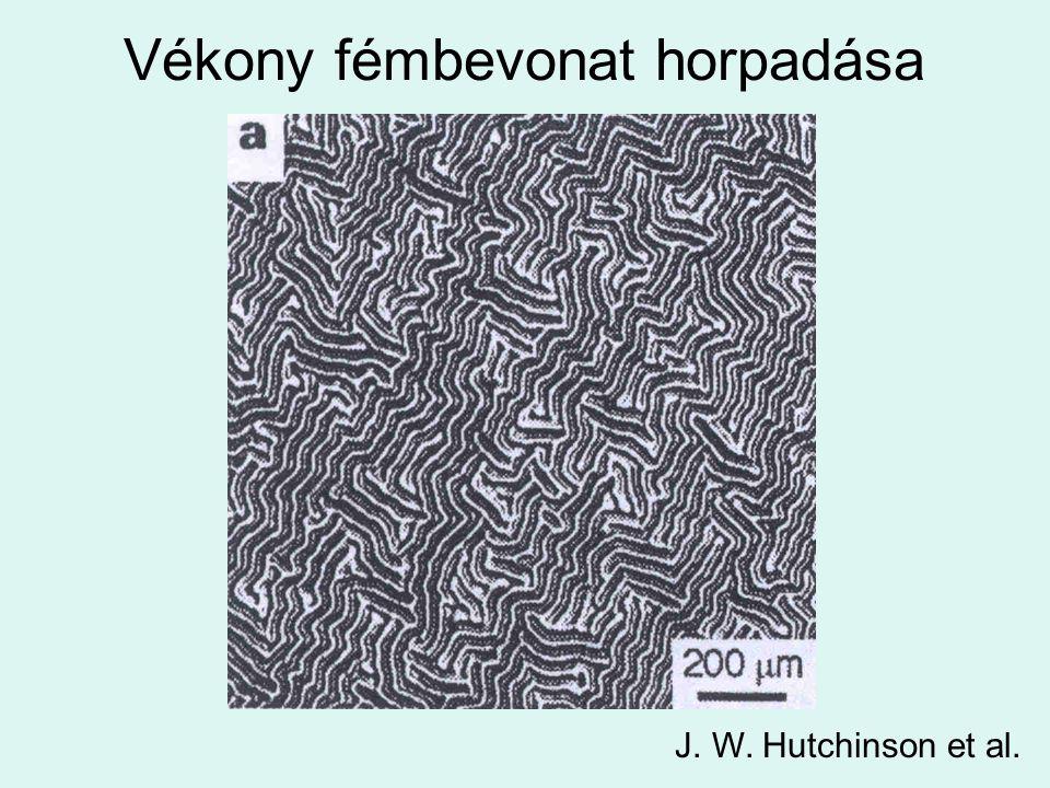 Vékony fémbevonat horpadása J. W. Hutchinson et al.