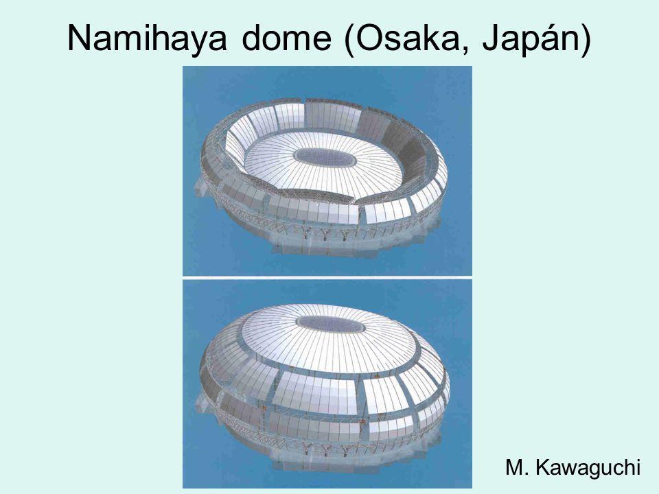 Namihaya dome (Osaka, Japán) M. Kawaguchi