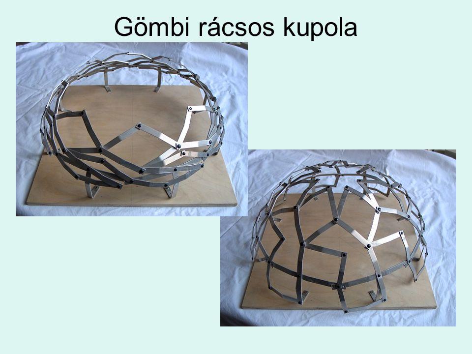 Gömbi rácsos kupola