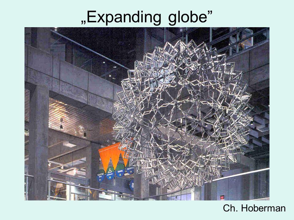 """""""Expanding globe"""" Ch. Hoberman"""