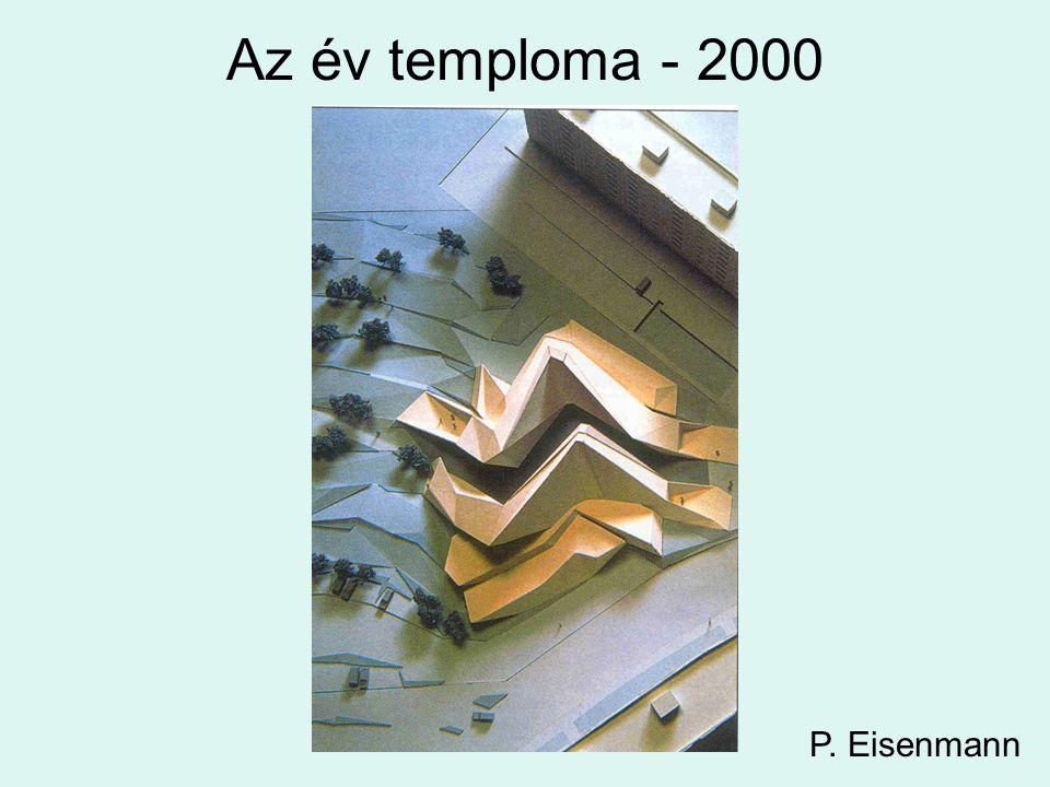 Az év temploma - 2000 P. Eisenmann