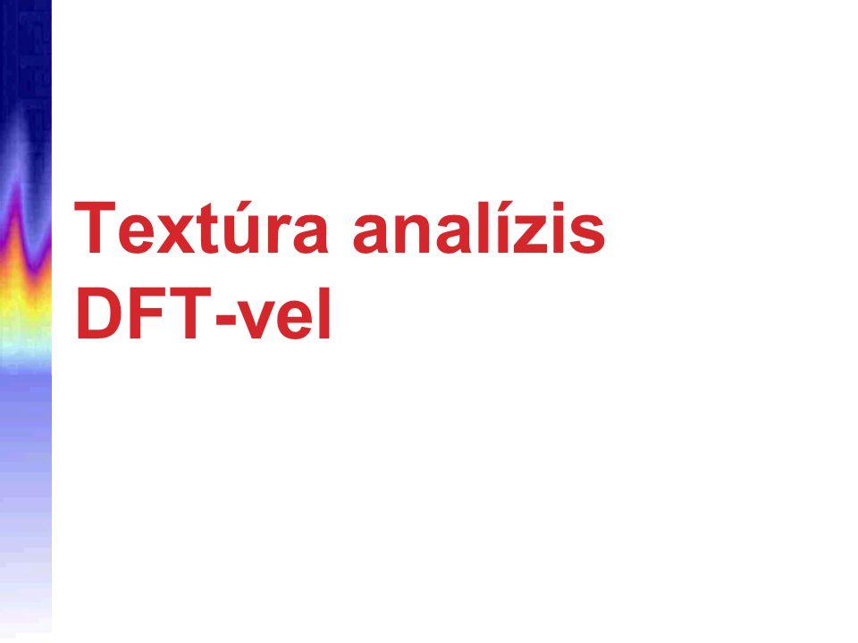 Textúra analízis DFT-vel