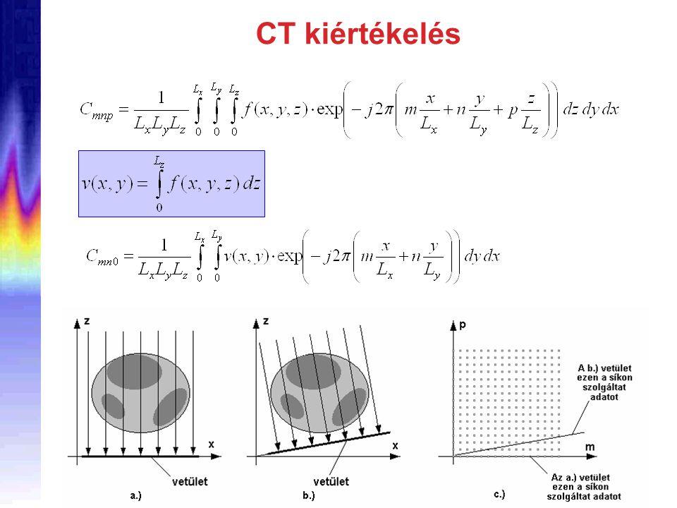 CT kiértékelés