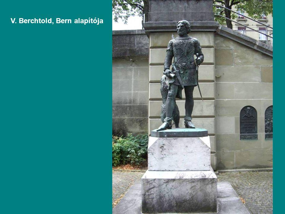 V. Berchtold, Bern alapítója