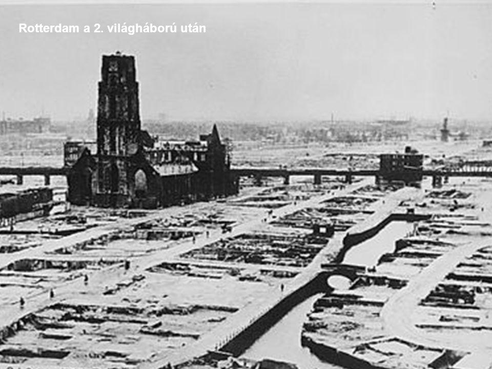 Rotterdam a 2. világháború után