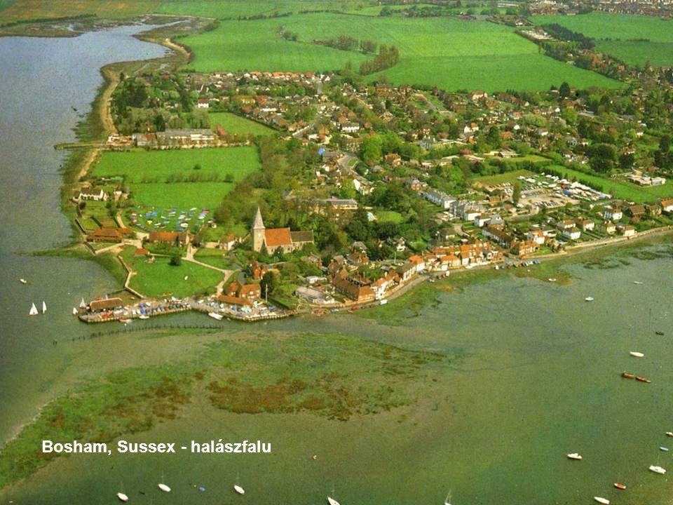 Bosham, Sussex - halászfalu