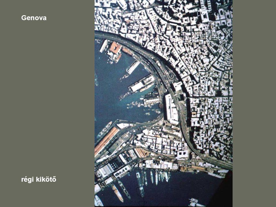 Genova régi kikötő