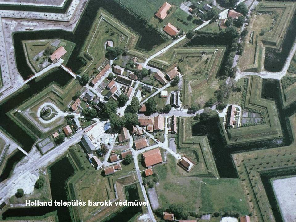 Holland település barokk védművel