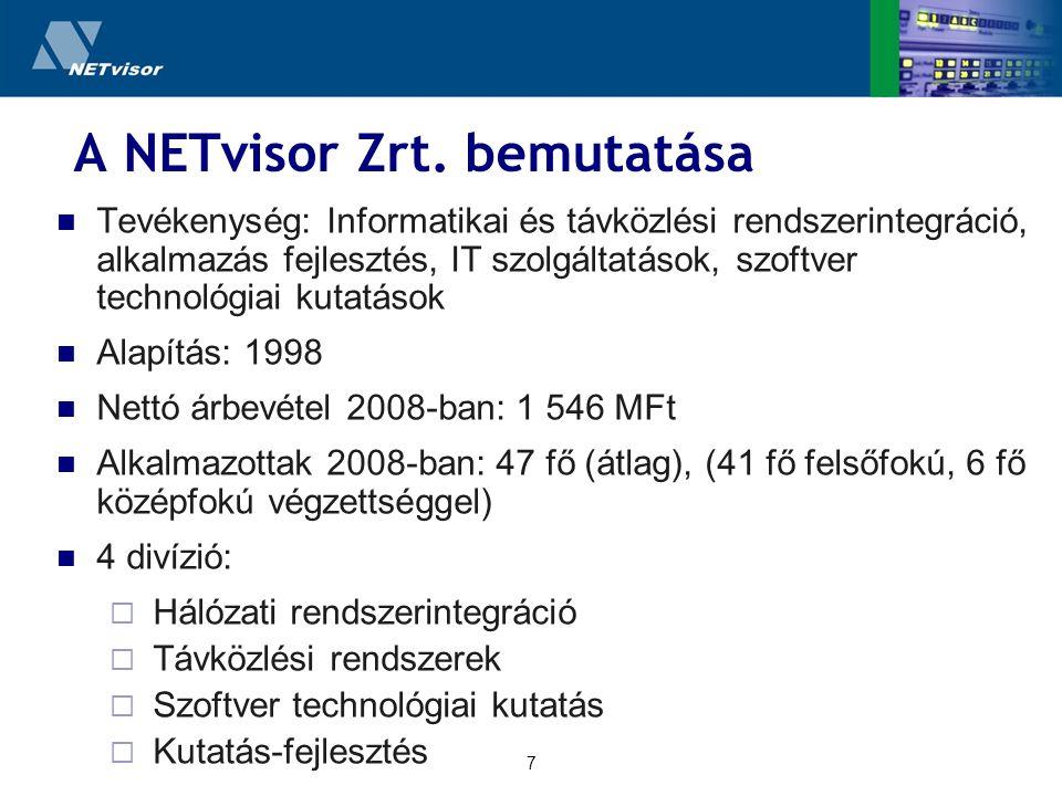 7 A NETvisor Zrt.