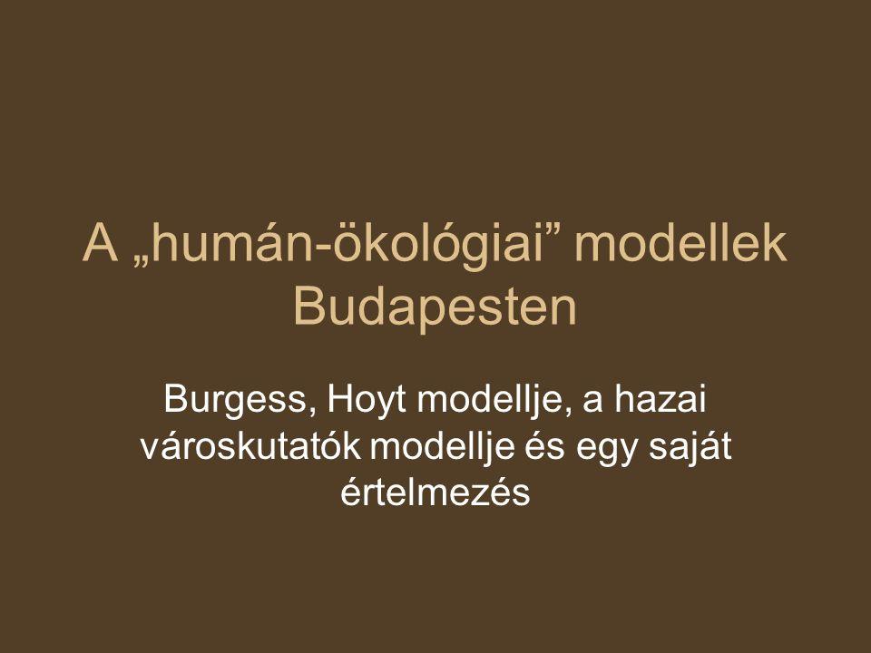 Ernest Burgess koncentrikus modellje