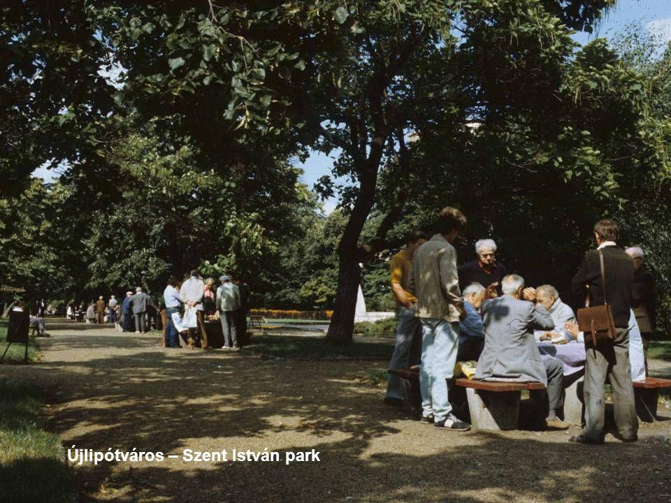 Újlipótváros – Szent István park