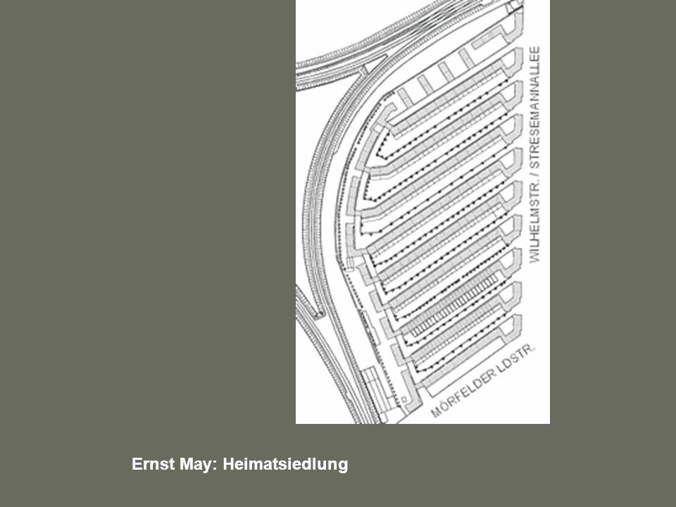 Ernst May: Heimatsiedlung